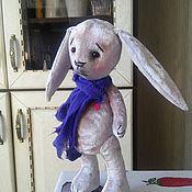 Куклы и игрушки ручной работы. Ярмарка Мастеров - ручная работа Пасхальный зайка тедди Эйфи. Handmade.