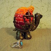 Куклы и игрушки ручной работы. Ярмарка Мастеров - ручная работа Черепашка с домиком. Handmade.