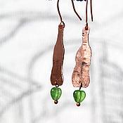 Украшения ручной работы. Ярмарка Мастеров - ручная работа Серьги «Джинн». Handmade.