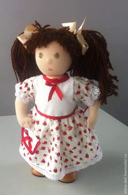 Вальдорфская игрушка ручной работы. Ярмарка Мастеров - ручная работа. Купить Иришка. Вальдорфская кукла, игрушка ручной работы.. Handmade.