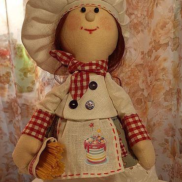 Куклы и игрушки ручной работы. Ярмарка Мастеров - ручная работа Кукла поваренок. Handmade.