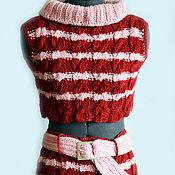 Одежда ручной работы. Ярмарка Мастеров - ручная работа Костюм вязаный подрастковый. Handmade.