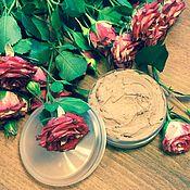 Косметика ручной работы. Ярмарка Мастеров - ручная работа Маска для всех типов кожи Rosa Damascena + розовая глина.. Handmade.