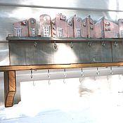 Для дома и интерьера ручной работы. Ярмарка Мастеров - ручная работа Полочка для украшений. Handmade.