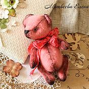 Куклы и игрушки ручной работы. Ярмарка Мастеров - ручная работа Мишка тедди Лу. Handmade.