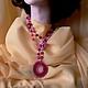 носить ожерелье можно и таким образом