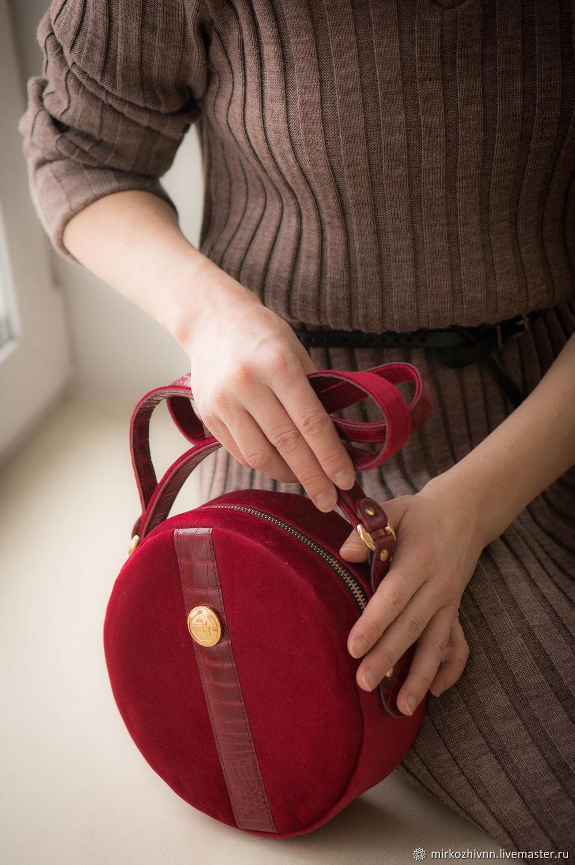 17388e6837f0 Женские сумки ручной работы. Ярмарка Мастеров - ручная работа. Купить Сумка  женская бархатная, ...