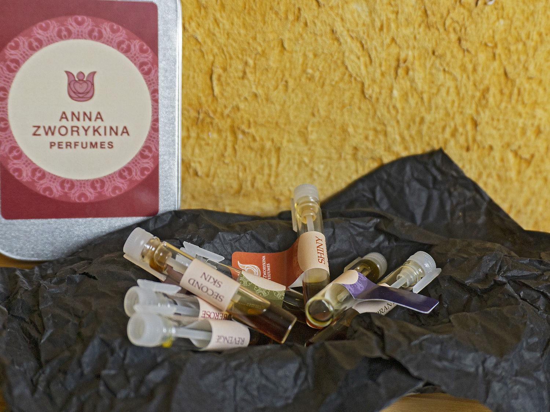 Знакомимся с натуральной парфюмерией-набор пробников натуральных духов, Духи, Москва,  Фото №1
