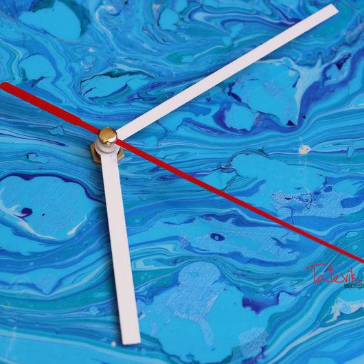 """Часы для дома ручной работы. Ярмарка Мастеров - ручная работа. Купить Часы настенные """"Воспоминания о море"""". Handmade. Волшебство, воображение"""