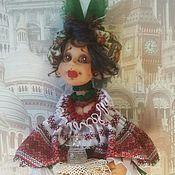 Куклы и игрушки ручной работы. Ярмарка Мастеров - ручная работа Несравненная Солоха. Handmade.