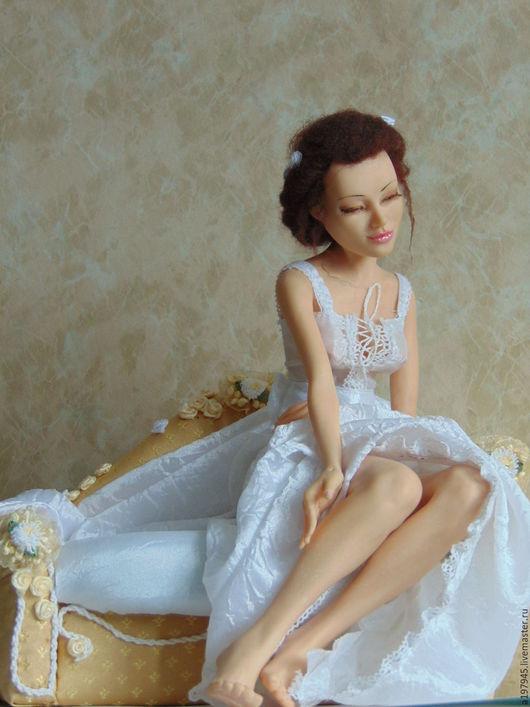 Портретные куклы ручной работы. Ярмарка Мастеров - ручная работа. Купить Камелия. Handmade. Ручная работа handmade