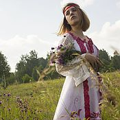 Одежда handmade. Livemaster - original item Felted wedding dress
