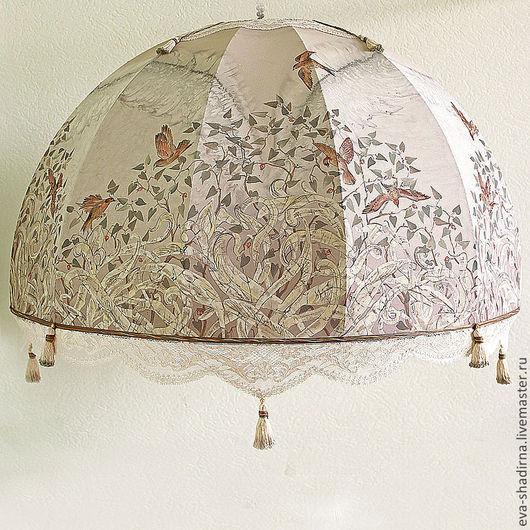светильник светильник потолочный лампа потолочная люстра авторский светильник абажур ева шадрина