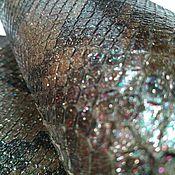 Мех ручной работы. Ярмарка Мастеров - ручная работа ИЗМ1 Набор из отрезов кожи питона. Handmade.