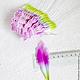 Лепестки лилии малые сиренево-зеленые My Thai материалы для малбери флористики