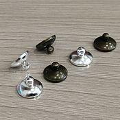 Материалы для творчества handmade. Livemaster - original item Caps for beads metal Art. ShB10. Handmade.