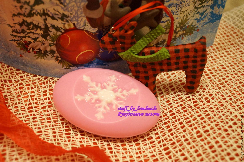 Soap handmade Small snowflake (bulk soap), Soap, Moscow,  Фото №1
