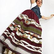 """Одежда ручной работы. Ярмарка Мастеров - ручная работа Юбка длинная из коллекции """"Великолепный Бохо"""" Юбка бохо. Handmade."""