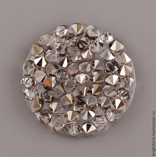 Для украшений ручной работы. Ярмарка Мастеров - ручная работа. Купить Crystal Rocks Light Metallic Gold Кристал Рокс. Handmade.