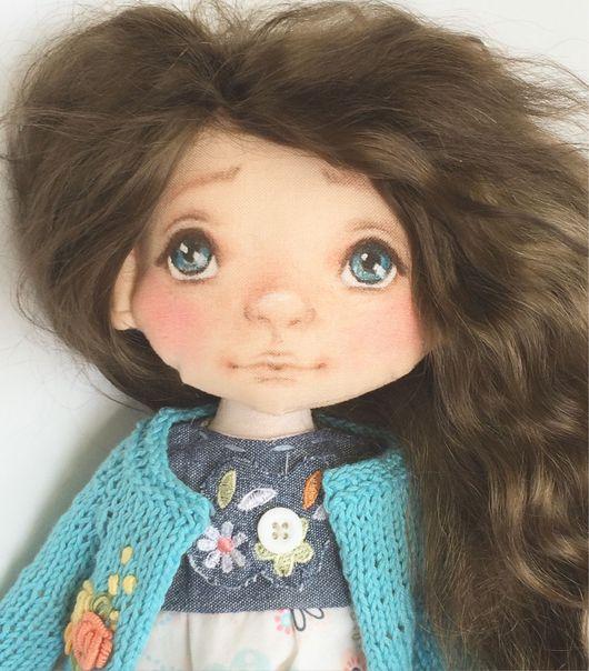 Коллекционные куклы ручной работы. Ярмарка Мастеров - ручная работа. Купить Кукла Алинка. Handmade. Подарок, подарок на любой случай