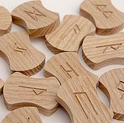 Фен-шуй и эзотерика handmade. Livemaster - original item Wooden runes. Handmade.