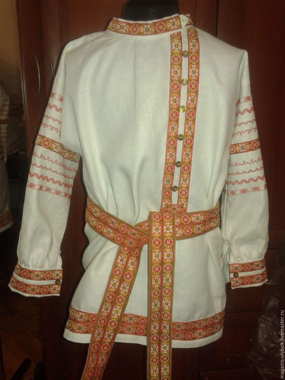 Рубашки в народном стиле купить монклер четыре снежинки