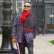 """Одежда ручной работы. Ярмарка Мастеров - ручная работа Мужское валяное пальто """"Уютный Лондон"""". Handmade."""