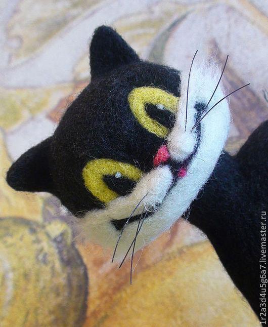 Сказочные персонажи ручной работы. Ярмарка Мастеров - ручная работа. Купить Мудрый Чёрный Кот (друг котёнка по имени Гав). Handmade.