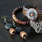 Украшения handmade. Livemaster - original item Jewelry sets: with jasper
