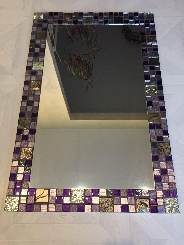 """Зеркало в мозаике """"Фиолет"""", Зеркала, Москва,  Фото №1"""