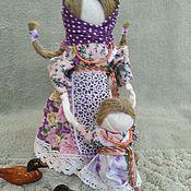 Народные сувениры ручной работы. Ярмарка Мастеров - ручная работа Кукла - оберег Ведучка. Handmade.