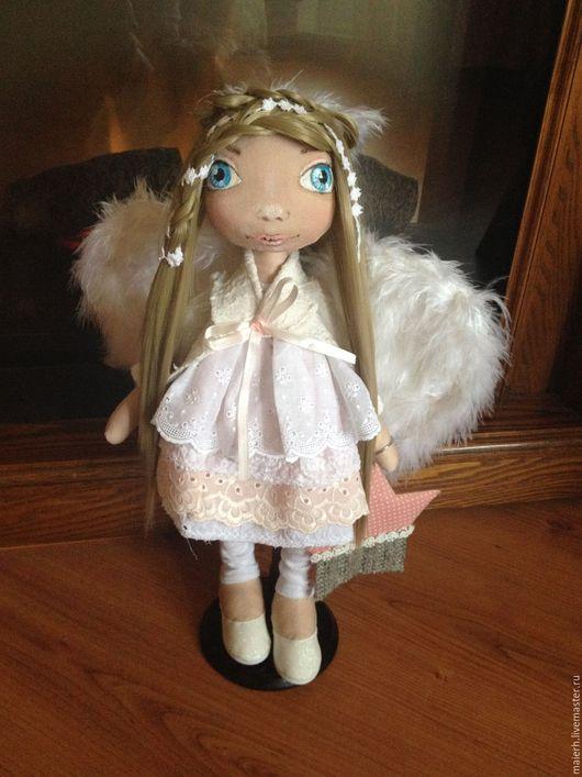"""Коллекционные куклы ручной работы. Ярмарка Мастеров - ручная работа. Купить Интерьерная кукла """"Ангел"""". Handmade. Комбинированный, ангел"""