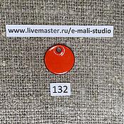 Материалы для творчества handmade. Livemaster - original item Enamel opaque Carrot No.132 Dulevo. Handmade.