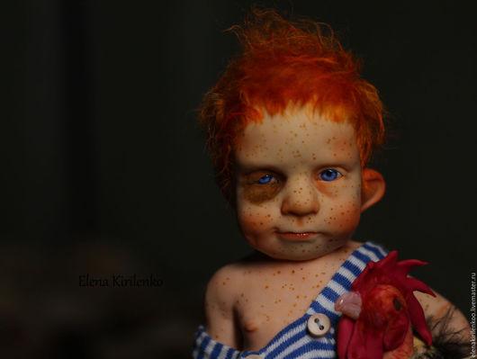 """Коллекционные куклы ручной работы. Ярмарка Мастеров - ручная работа. Купить """"Одинокий пастух"""". Handmade. Рыжий, living doll"""