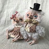 Куклы и игрушки ручной работы. Ярмарка Мастеров - ручная работа Совушки-любимчики РЕЗЕРВ. Handmade.