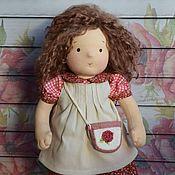 Вальдорфские куклы и звери ручной работы. Ярмарка Мастеров - ручная работа Вальдорфская кукла Анна. Handmade.