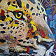 Order Oil painting Leopard. Picture. Buy oil painting. Pictures. pirogov-maxim (pirogov-maxim). Livemaster. . Pictures Фото №3