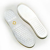 """Материалы для творчества ручной работы. Ярмарка Мастеров - ручная работа Подошва для обуви """"URAGAN"""" белый. Handmade."""