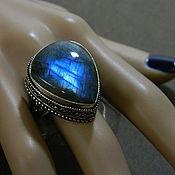 Украшения handmade. Livemaster - original item Ring with Labradorite (Madagascar). (047). Handmade.