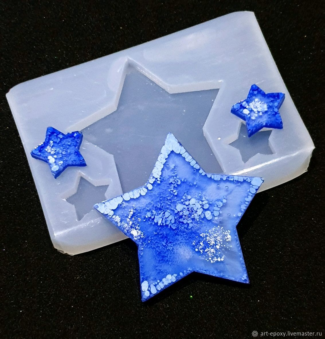 Mold ' Stars', Molds for making flowers, Volgograd,  Фото №1