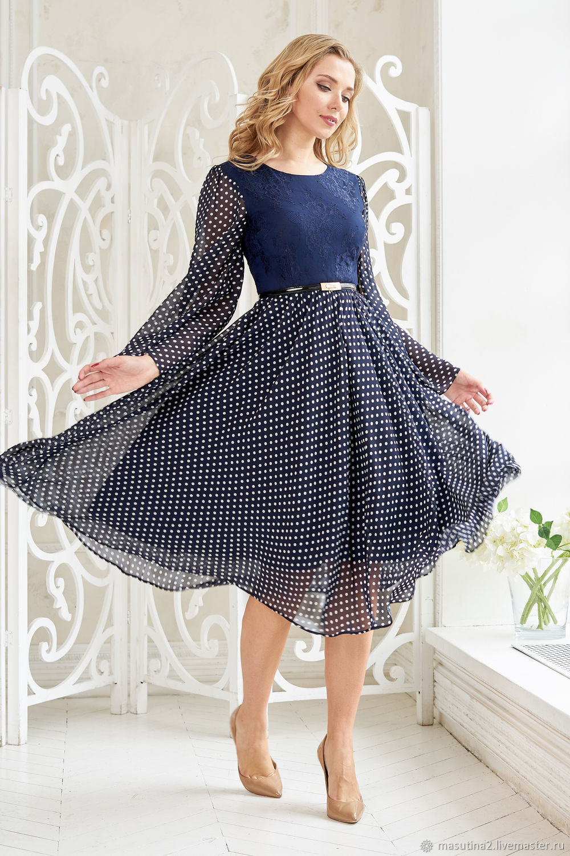 Dress ' Blue peas', Dresses, St. Petersburg,  Фото №1