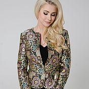 Suit Jackets handmade. Livemaster - original item Jacket dressy jacket brocade. Handmade.