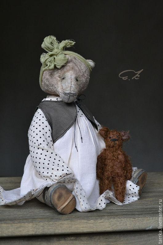 Мишки Тедди ручной работы. Ярмарка Мастеров - ручная работа. Купить Сашенька. Handmade. Белый, авторский, опилки