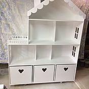 Кукольные домики ручной работы. Ярмарка Мастеров - ручная работа Кукольный домик. Handmade.