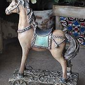 Для дома и интерьера handmade. Livemaster - original item Horse on a stand.. Handmade.