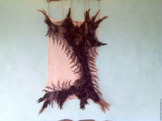 """Абстракция ручной работы. Ярмарка Мастеров - ручная работа. Купить Панно в эко-стиле """"Шкура неубитого медведя"""". Handmade."""
