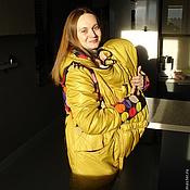 """Одежда ручной работы. Ярмарка Мастеров - ручная работа Куртка / слингокуртка зимняя """"Funny mommy"""". Handmade."""