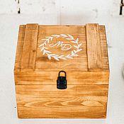 Свадебный салон ручной работы. Ярмарка Мастеров - ручная работа Деревянный ящик для пожеланий. Handmade.
