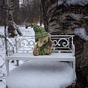 Куклы и игрушки ручной работы. Ярмарка Мастеров - ручная работа Мини-слоник Christmas, друг Тедди. Ед.экземпляр.. Handmade.