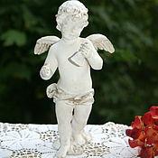 Винтаж ручной работы. Ярмарка Мастеров - ручная работа Ангел с колокольчиком. Handmade.